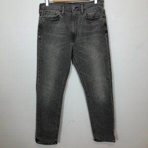 LEVI'S Style 522 Grey Slim Leg Denim Jean Pant